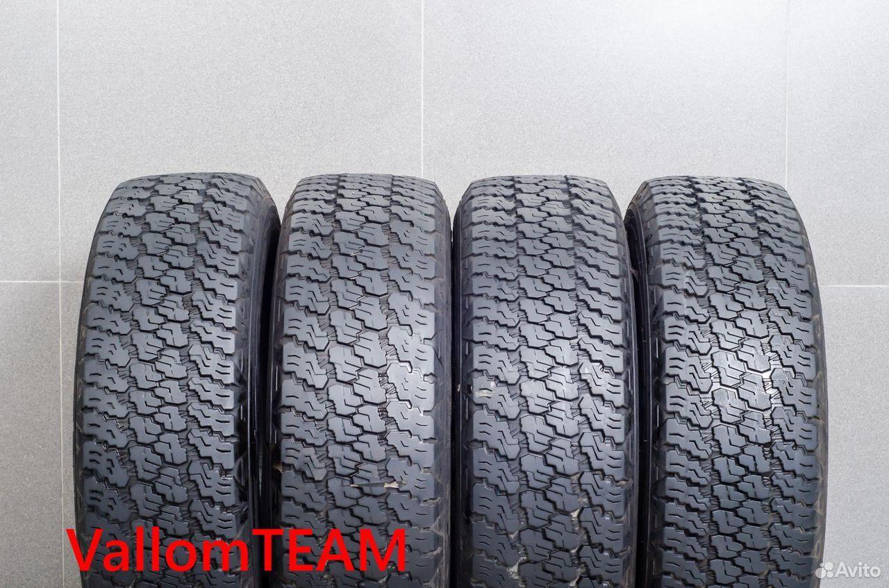 Лот UP100829 Комплект шин 245/75R17 Goodyear Wrang  89148998836 купить 2