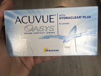 Линзы Acuvue Oasys -4.75