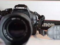 Зеркальный Canon EOS 550D + Sigma DC 18-125