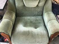 Диван с 2 креслами раскладной