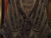 Жилет, Туника вязаный трикотаж с пухом лебяжьим — Одежда, обувь, аксессуары в Санкт-Петербурге